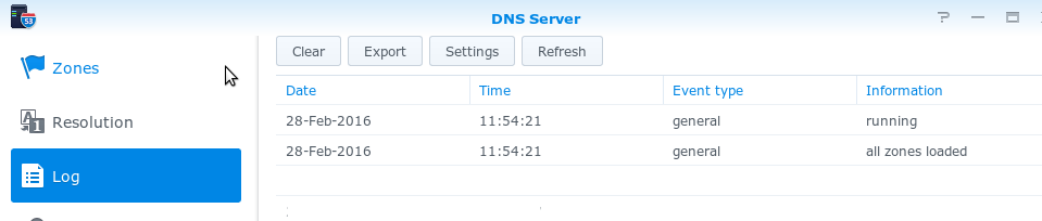 DNS and DHCP on Synology NAS - Beware Here Be Musings